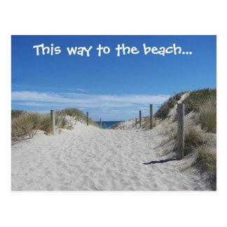 Australia Beach Postcard