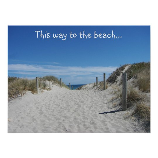 Australia Beach Poster