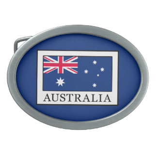 Australia Belt Buckle