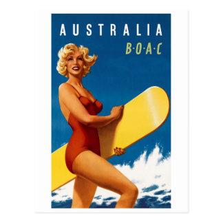 Australia - BOAC Tarjetas Postales