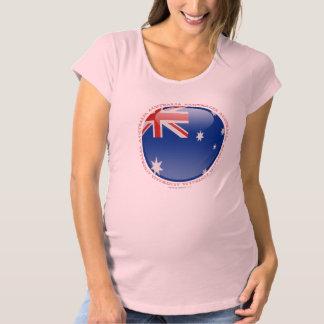 Australia Bubble Flag Maternity T-Shirt