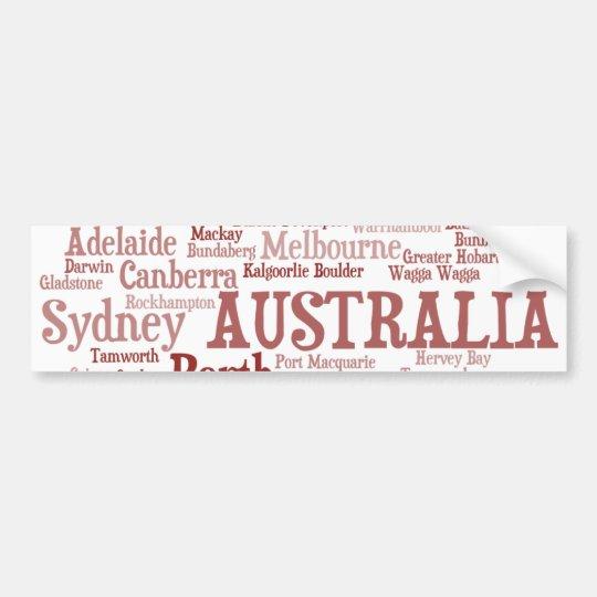 AUSTRALIA Bumper Sticker