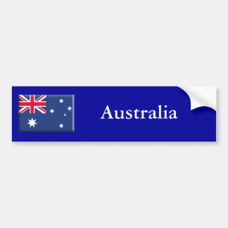 Australia Etiqueta De Parachoque