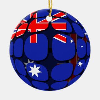 Australia Ceramic Ornament