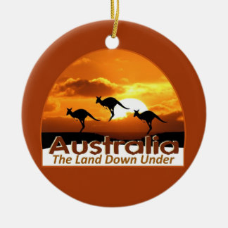 AUSTRALIA CERAMIC ORNAMENT