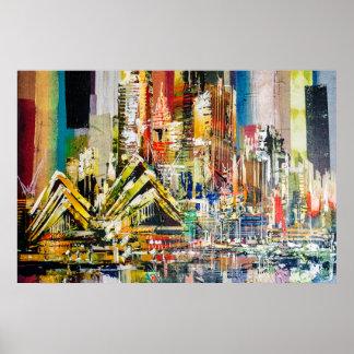 Australia city poster