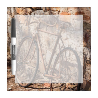 Australia, Clare Valley, Sevenhill, old bicycle Dry-Erase Board