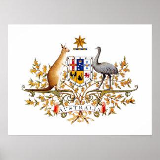 Australia COA Poster