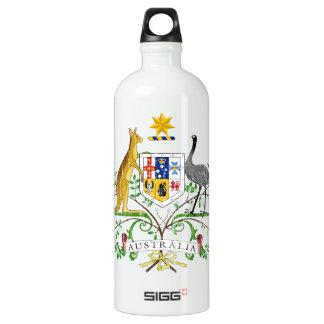 Australia Coat Of Arms Aluminum Water Bottle