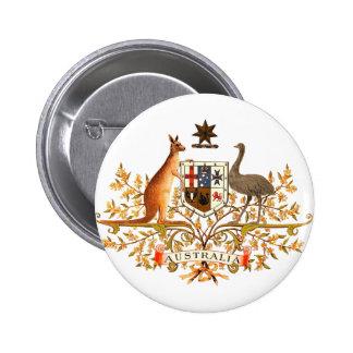 australia coat of arms button