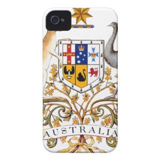 Australia coat of arms iPhone 4 case