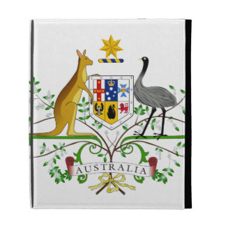 Australia Coat Of Arms iPad Folio Case