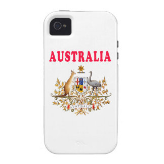 Australia Coat Of Arms Designs Vibe iPhone 4 Cover