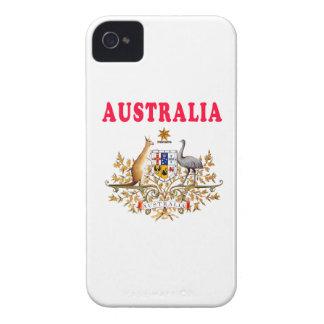 Australia Coat Of Arms Designs iPhone 4 Case
