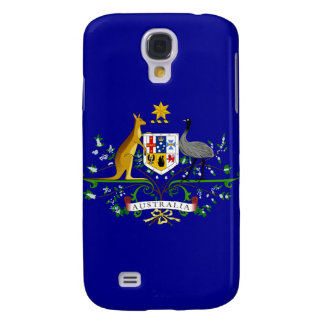 australia coat of arms galaxy s4 cover