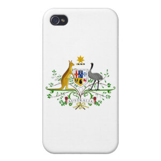 Australia Coat of Arms Covers For iPhone 4