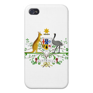 Australia Coat Of Arms Cover For iPhone 4