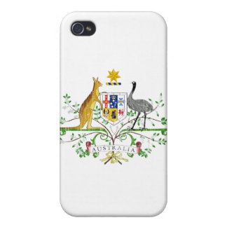Australia Coat Of Arms iPhone 4 Covers