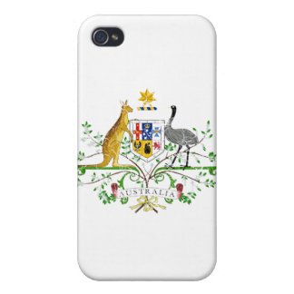 Australia Coat Of Arms Cases For iPhone 4