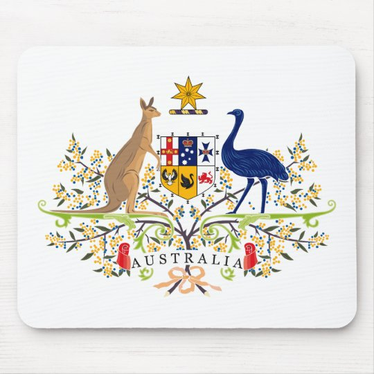 Australia Coat of Arms Mousepad