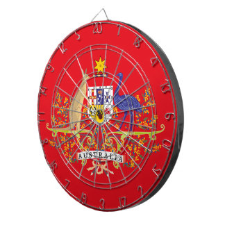 Australia Coat of Arms Network Edition Dartboard