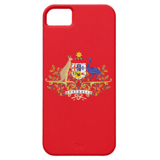 Australia Coat of Arms Network Edition iPhone SE/5/5s Case