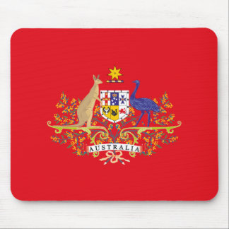 Australia Coat of Arms Network Edition Mouse Pad