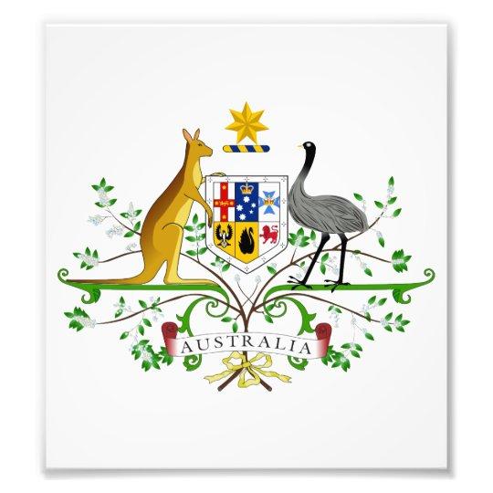 Australia Coat Of Arms Photo Print
