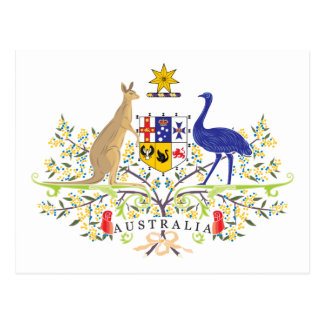 Australia Coat Of Arms Post Cards