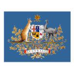 Australia Coat of Arms Postcards