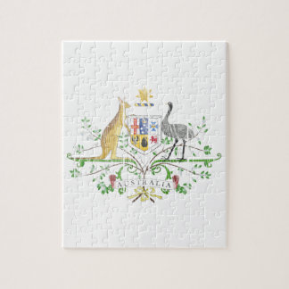 Australia Coat Of Arms Jigsaw Puzzle