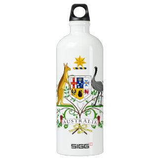 Australia Coat Of Arms Water Bottle