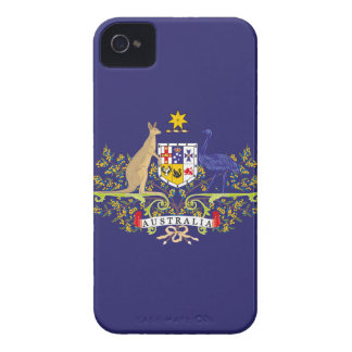 Australia Coat of Blue Arms Edition iPhone 4 Case-Mate Case
