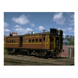 Australia, coche de motor del gas del relais de NS Tarjeta Postal