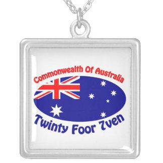 Australia Colgante Cuadrado
