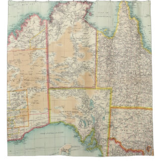 Australia compuesta cortina de baño