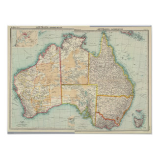 Australia compuesta posters