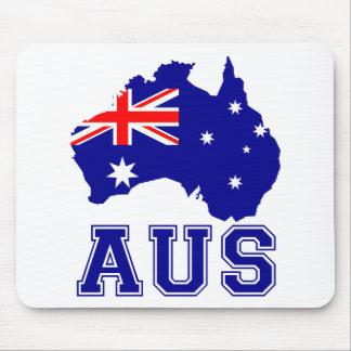 Australia Continent Mouse Pad