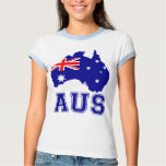 Australia Continent T Shirt