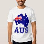 Australia Continent T Shirts