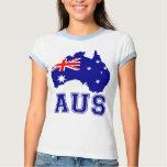 Australia Continent Tee Shirt