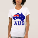 Australia Continent Tee Shirts