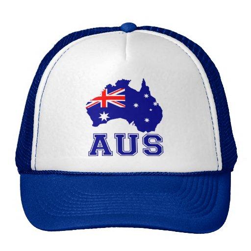 Australia Continent Trucker Hat