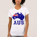 Australia Continent Tshirt