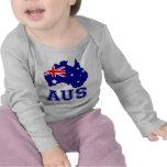Australia Continent Tshirts