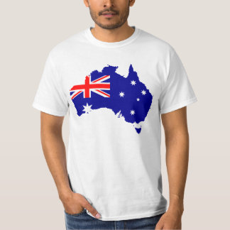 Australia country flag design T-Shirt