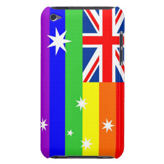 australia country gay proud rainbow flag iPod touch case