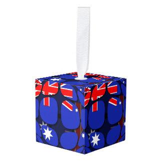 Australia Cube Ornament