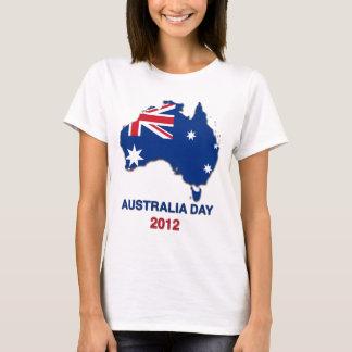 Australia Day 2012 Ladies Tshirt