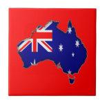 Australia Day Ceramic Tile